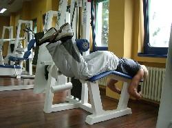 Übung: Beinbeuger